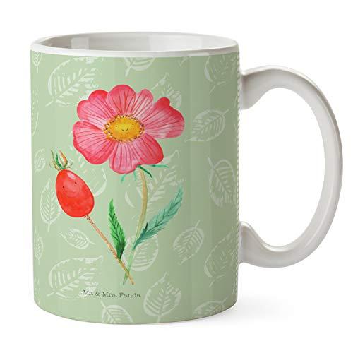 Mr. & Mrs. Panda ontbijt, koffiekopje, beker Rozenbottel - Kleur bladgroen