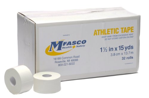 Athletic Tape MFASCO 11/2 x 15Yd 32/case