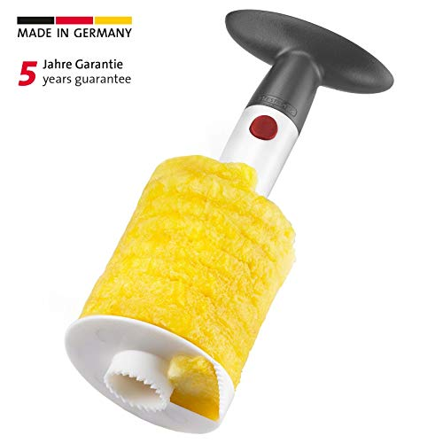 Westmark Ananasschneider/-entkerner, Durchmesser: 8,6 cm, Kunststoff, Weiß/Schwarz, 51672270