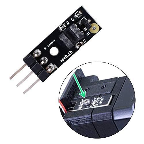 GzxLaY Drone Accessories, MK2.5/MK3 MK2.5S/MK3S IR Filament Sensor Upgrade MK3 Detect Stuck Filament I3 Module 1.75mm of 3D Printer Parts MK8 Extruder Quadcopters Accessories