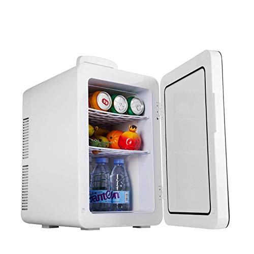 LYJ 24 litros compacto enfriador/calentador del mini refrigerador/enfriador de vino for los coches, Viajes por carretera, hogares, oficinas y dormitorios refrigerador del coche (color, tamaño: 37.