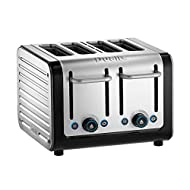 PERFECT TOAST TECHNOLOGY: Calculates the temperature of the toaster and its surroundings and adjusts the cycle to make sure your toast is just how you like it, every time. Also comes with a removable crumb tray to avoid any unwanted mess PEEK AND POP...