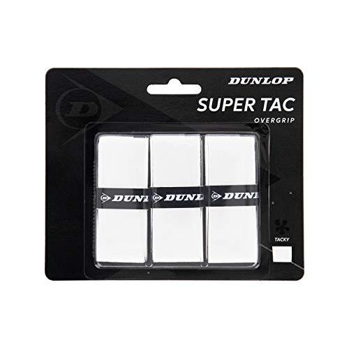 Dunlop 10298360 Grip de Tenis, Unisex-Adult, Blanco, Talla Única