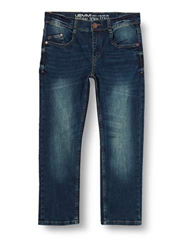 Lemmi Jungen Hose Boys Regular fit Big Jeans, Blau (Blue Denim|Blue 0013), (Herstellergröße: 170)
