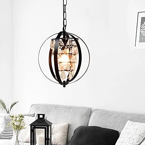 Lámpara colgante industrial Depuley, 1 foco, altura regulable, vintage, E27, lámpara colgante para cocina, comedor, salón, dormitorio, balcón