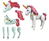 Súper Unicornio Grande Modelo De Globo De Decoración Para Fiesta De Navidad Y Fiesta De Cumpleaños TALLA SÚPER GRANDE