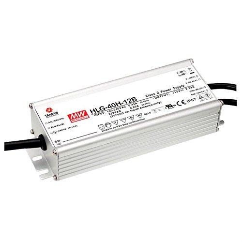 Preisvergleich Produktbild LED Netzteil 40W 12V 3, 33A ; MeanWell HLG-40H-12B ; dimmbar 1-10V PWM