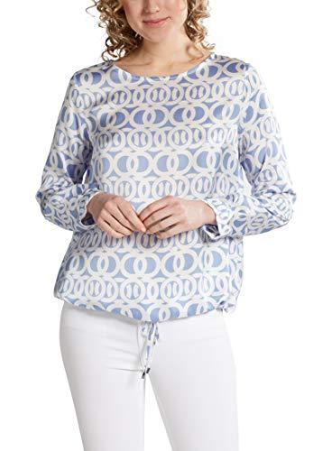 eterna blouse met lange mouwen 1863 van premium bedrukt
