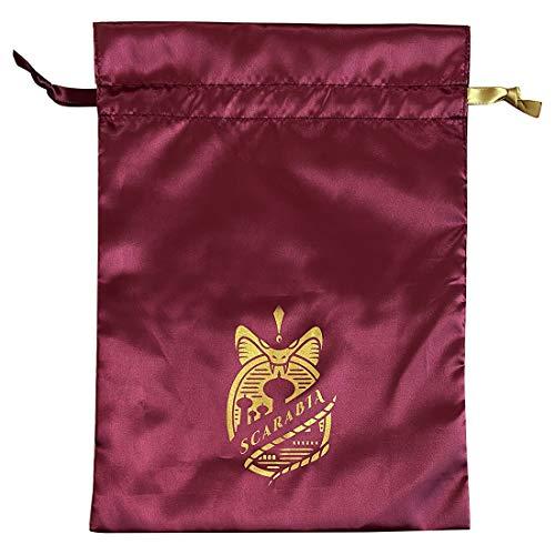 【予約販売】ツイステッドワンダーランド サテン巾着 スカラビア APDS5497_0