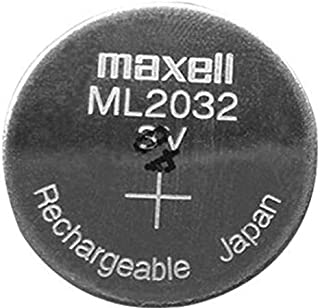 Maxell ML2032 2032 Lithium Rechargeable Coin Cell 1 Battery
