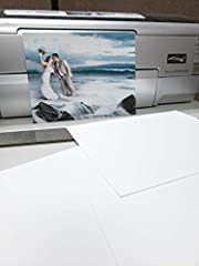 Works Great With Epson, Canon, HP and More Beautiful Luster Finish that is 18% Thicker Than Most Lab Prints German Made Quality Base Material Works With All Dye or Pigment Based Printers. Gorgeous Color Reproduction and Clarity Lifetime warranty on a...
