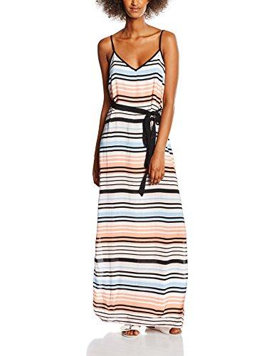 New Look Havana Slip Stripe Pebble Vestido, Rosa (Pink Pattern), 40 para Mujer