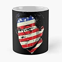 Stephen Colbert Portrait The Late Show Funny Floral Coffee Mugs Gifts