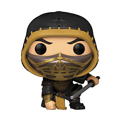 POP! Movies Mortal Kombat (2021) 1058 - Scorpion Crouching Special Edition