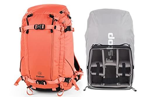 f-stop - Ajna Kamera-Set, 40 l Kapazität mit Neigung, mittlere interne Kamera-Einheit (ICU), Regenschutz – Nasturtium Orange