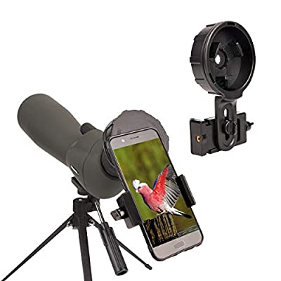 20-60x80 Spotting Scope 80mm Big Objective Lens Newest Lightweight Scope for Bird Watching Target Shooting Archery Outdoor Activities - with Tripod & Digiscoping Adapter Get Beautiful View into Screen