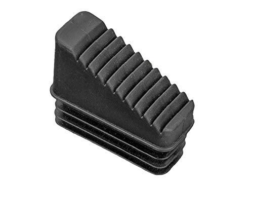 ORYX 23010060 Contera Escaleras Aluminio Delantera de 7 y 8 Peldaños, Negro