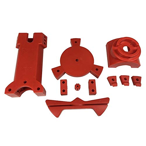 XIAOMINDIAN DIY 3D Scanner Plastic Injection molding Parts, red Color Printer Parts