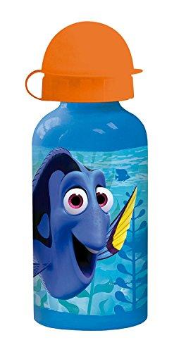 p:os 25323 Disney Pixar Findet Dorie Trinkflasche, Aluminium, ca. 400 ml