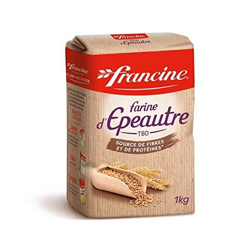 FRANCINE - Farine Epeautre 1Kg - Lot De 4