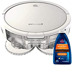 Bissell SpinWave Hard Floor Expert Pet Robot, 2-in-1 Wet Mop and Dry Robot Vacuum, WiFi Connected with Structured Navigation, 3115