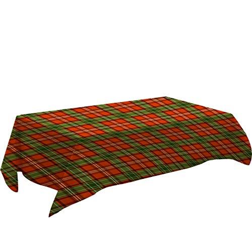 dingtian Mantel de Año Nuevo para decoración de mesa de cocina rectangular para banquetes de Navidad