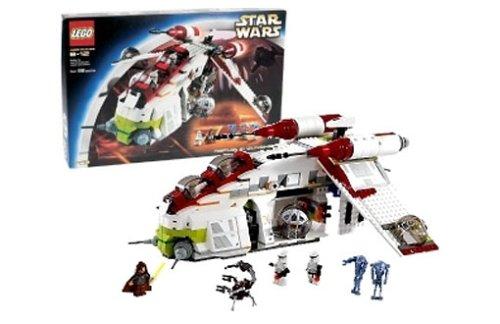 Lego 7163 - Republic Gunship TM, 686 Teile
