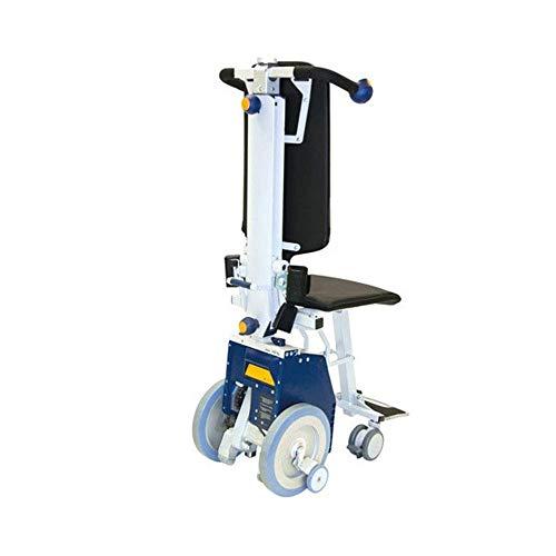 ZHANGYY Escalera eléctrica Coche Silla de Ruedas Silla de Ruedas, discapacitados Ancianos Manual Silla de Ruedas portátil, Subir y Bajar escaleras Transporte