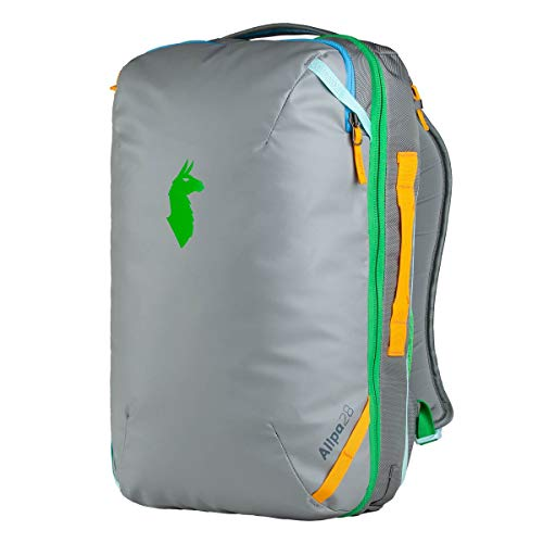 Cotopaxi Allpa 28L Travel Pack - Shark/Aqua/Grass 28L