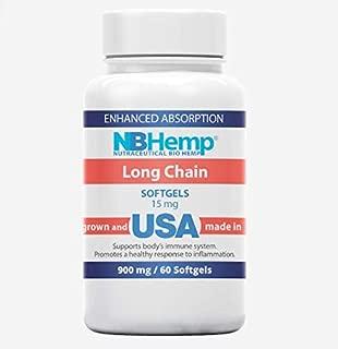 Hemp Oil Soft Gel Capsules 900MG - for Pain Relief Anxiety Sleep Mood Immune Natural Organic Hemp Oil