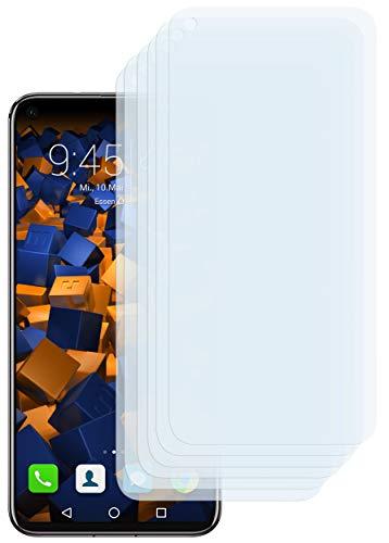 mumbi Schutzfolie kompatibel mit Huawei Honor View 20 Folie klar, Bildschirmschutzfolie (6X)
