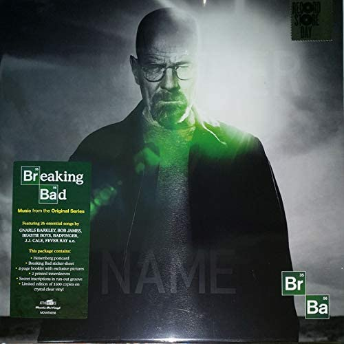 breaking bad clear vinyl record store day 2019 exclusive limited product image
