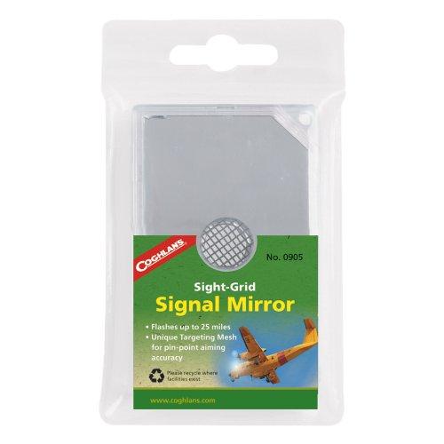 Coghlan's Sight-Grid Signal Mirror