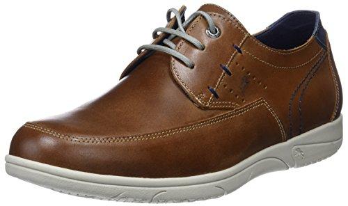 Fluchos Sumatra, Zapatos de Cordones Derby Hombre, Marrón (Brown), 43 EU