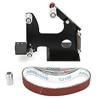 CLJ-LJ サンディングベルトアダプター、サンディングベルトアダプターセットを変更し、電気角グラインダーの中へベルトサンダー研磨用とウッドメタルステンレス鋼の研削