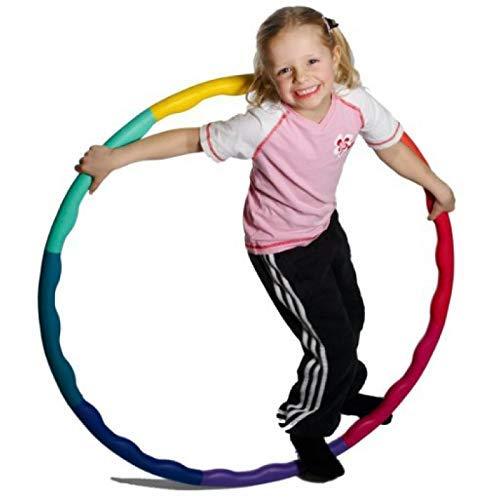 Tokari wala Hula Hoop, Hoopa Hula, Exercise Ring for Fitness for Boys,Girls, Kids and Adults ( Multi Color ) (Large)