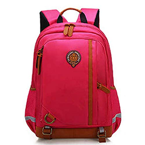 GroßE KapazitäT Rucksack/Daypack,TTLOVE Wasserdicht Und Lastreduzierend Schultasche MäDchen Kinder Schulrucksack Cartoon Mode Rucksack(rot,25x10x12 cm)