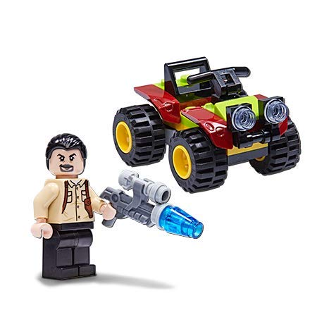 LEGO Jurassic World: Vic Hoskins and Patrol Vehicle