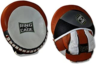 Ring to Cage Platinum GelTech Catch-N-Feed Micro Punch Mitt, for Boxing, Muay Thai, MMA, Kickboxing, Martial Arts
