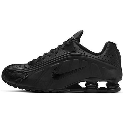 Nike Shox R4, Zapatillas de Atletismo para Hombre, Negro (Black/Black/Black/White 44), 41 EU