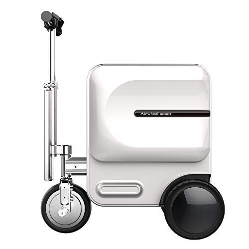 Airwheel SE3 Smart Luggage Riding (fahrbar), Smart Riding Koffer für Kinder Silber silber 489*365*580mm / 629*365*826mm