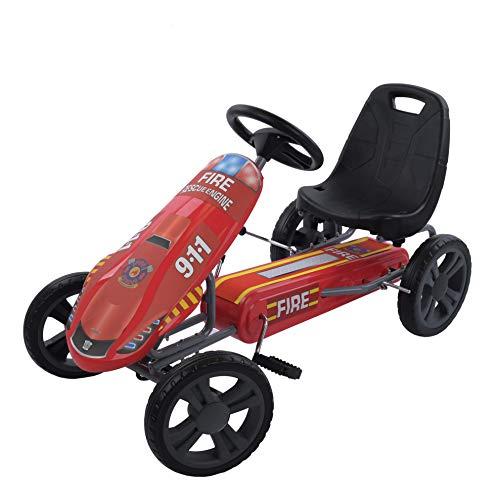 Hauck Fire Rescue Pedal Go Kart