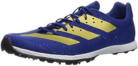 adidas Men's Adizero XC Sprint Running Shoe, Collegiate Royal/Gold Metallic/Black, 13 M US