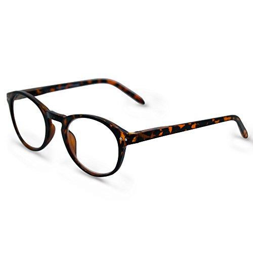 In Style Eyes Optic Vision Progressive BiFocal-Brille, Braun (türkis), Medium