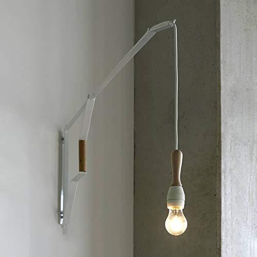 STUDIO SIMPLE-Applique murale Céramique & Bois L120cm Blanc Serax - designé par Studio Simple