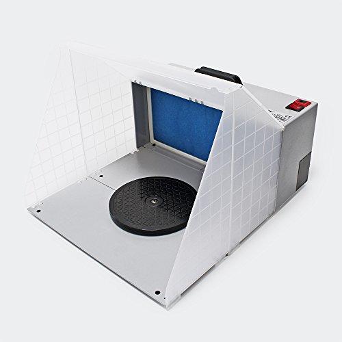 Equipo de aspiración aerografía 4m³/min Filtro succión neblina rociado pintar Accesorios aerografía