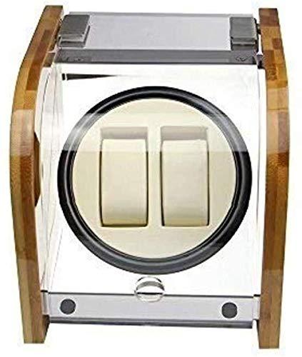 Bambus-Uhren-Shaker-Uhren-Shaker-Uhren-Uhren-Aufzieh-Box, drehbare Box, modisch, exquisit