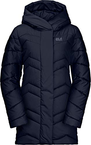 Jack Wolfskin Damen Kyoto Coat W Steppmantel, Midnight Blue, S