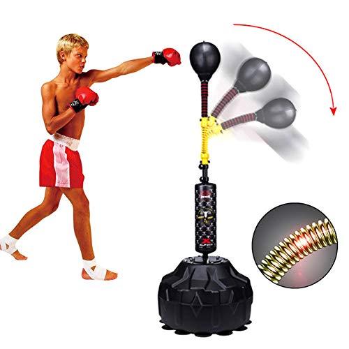 NANANA Punchingball Boxen Set Boxsack Erwachsene Freistehend Standboxsack, Jugend Boxtraining Standboxball Höhenverstellbar 145-180cm Boxsack Boxständer
