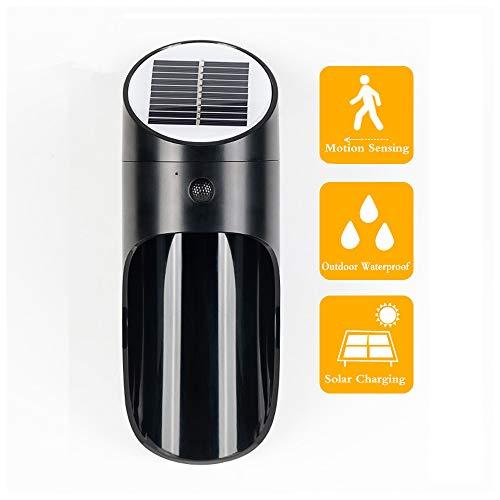 ZHANG Ledlamp op zonne-energie met bewegingsmelder, zonnelampen voor buiten, waterdichte zonnelampen voor in de tuin